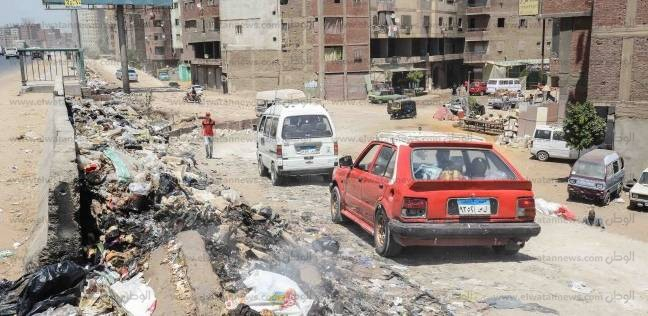 سلالم الطريق الدائرى.. «مطالع ومنازل» للموت والقمامة