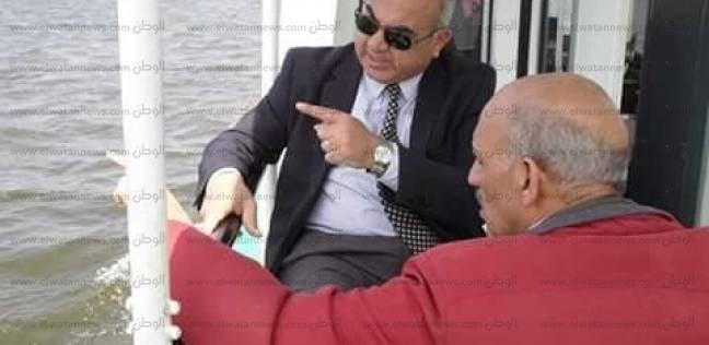 """رئيس """"النقل النهري"""" يبحث الأعمال النهائية لـ""""تتبع الوحدات"""" قبل افتتاحه"""