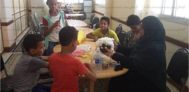 مركز الموهوبين بجنوب سيناء ينظم ورشة عمل لإعادة تدوير المخلفات