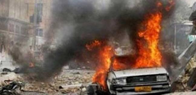 مصرع شخصين وإصابة أربعة آخرين بتفجير انتحاري غرب بغداد