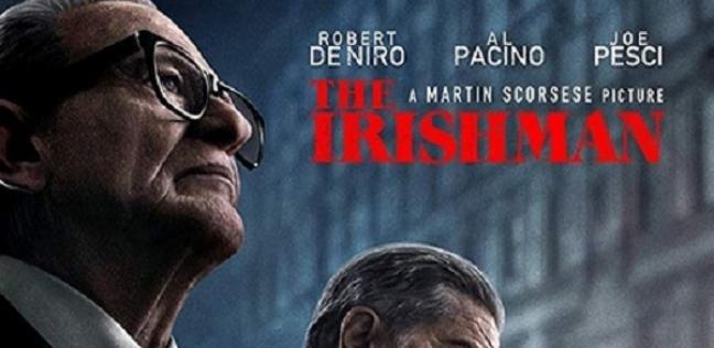 """الحساب الرسمي لمهرجان دبي السينمائي ينشر بوستر فيلم """"THE IRISHMAN"""""""
