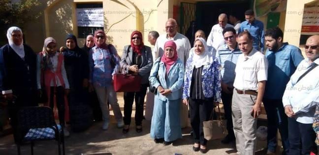 قافلة طبية لجامعة المنصورة للكشف عن أمراض الكبد بقرية العريض ببلقاس
