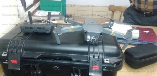 ضبط طائرة تجسس بحوزة راكب صيني في مطار أسوان