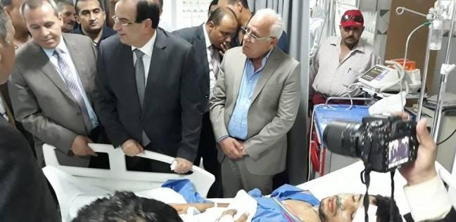 محافظة بورسعيد تنعى ضحايا حادث أتوبيس عمال منظقة الاستثمار