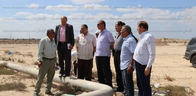 بالصور  محافظ كفر الشيخ يتفقد موقع إنشاء القرية الأوليمبية