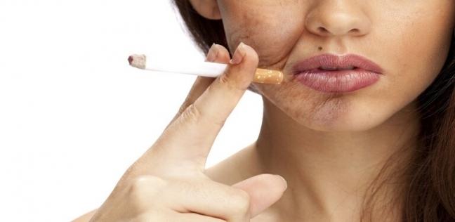 آثار التدخين السلبية تمتد للبشرة