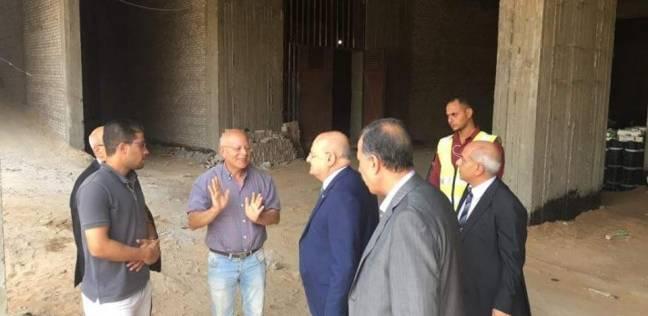 رئيس جامعة الزقازيق يتفقد أعمال الإنشاءات لمستشفى الطوارئ