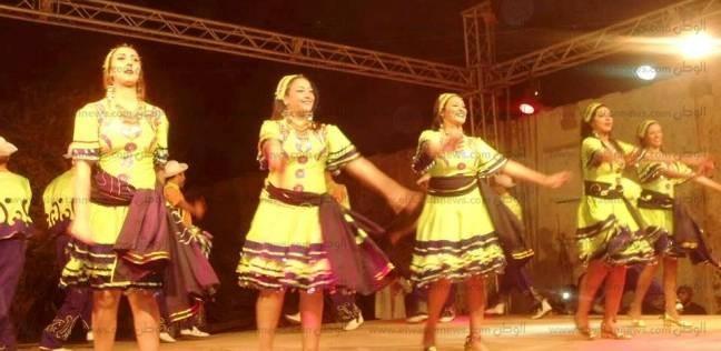 """فرقة رضا تقدم عروضا للفنون الشعبية بـ""""ثقافة أسوان"""""""