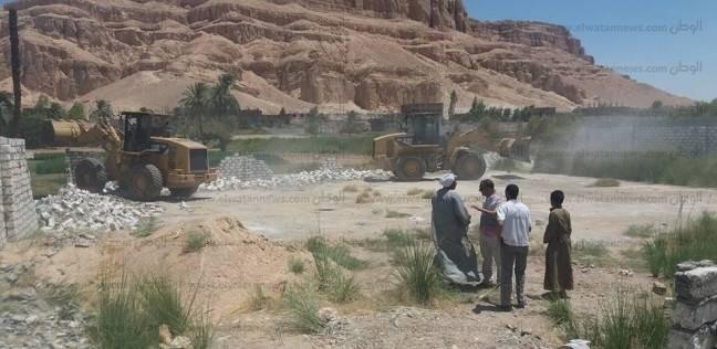 محافظة قنا تستعيد نحو 170 فدان من أملاك الدولة