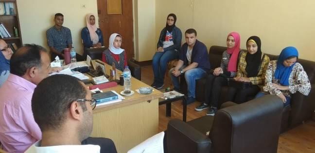 """""""آداب إعلام الإسكندرية"""" يختتم اختبارات قبول الطلاب للعام الجديد"""