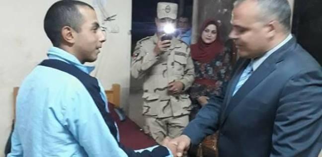 إصابة جندي تأمين لجنة في أشمون بحالة إعياء.. ونقله للمستشفى