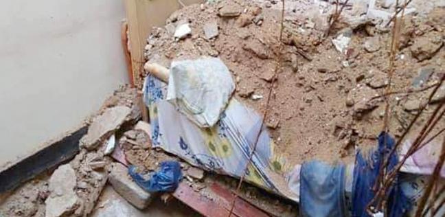 سقوط 3 أسقف من عقار بوسط الإسكندرية دون إصابات
