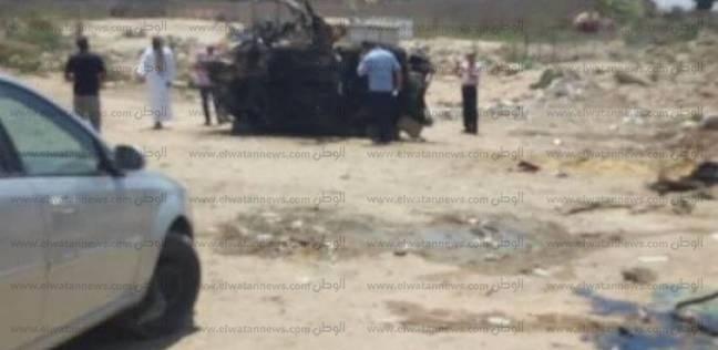 مصرع 3 أشخاص وإصابة 6 في حوادث متفرقة على الطريق الصحراوي بالبحيرة