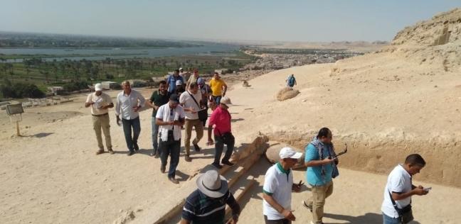 السياحة : تعاقدنا مع أكبر شركات ترويجية لجذب نسبة مرتفعة من السياح - مصر -