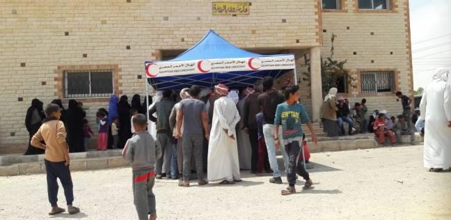 """""""التضامن الاجتماعي"""" تواصل صرف إعانات للسائقين والصيادين بشمال سيناء"""