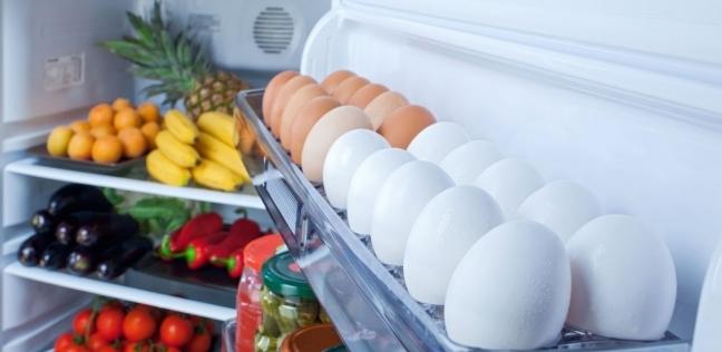 تخزين البيض