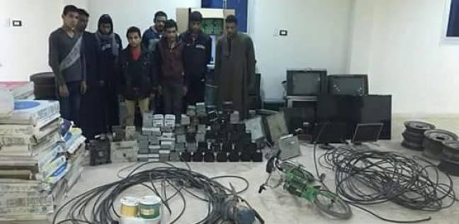 القبض على 8 متهمين مطلوب ضبطهم وإحضارهم في الغربية