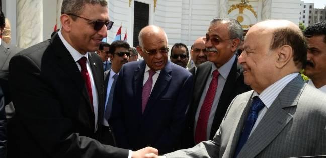 علي عبدالعال يستقبل الرئيس اليمني بمجلس النواب