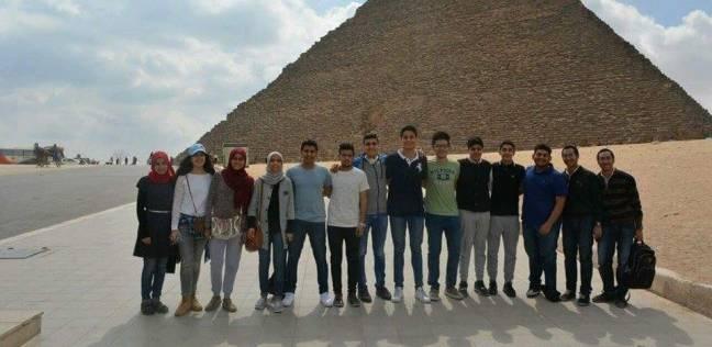 """""""طلاب بنها"""" يطلقون مبادرة """"مصر أمان"""" لدعم السياحة في مصر"""