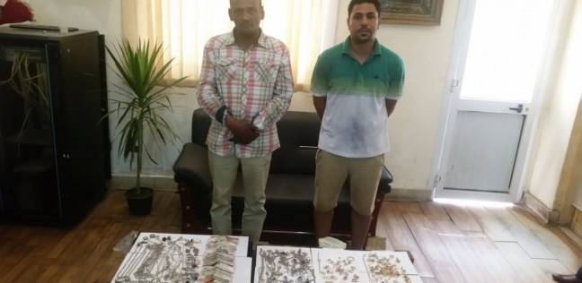 حبس عاطل وصديقه بتهمة سرقة محل ذهب في الهرم