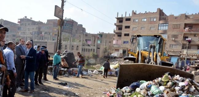 استمرت 9 ساعات..  الهجان  يقود حملات النظافة والإشغالات بمدن القليوبية - المحافظات -
