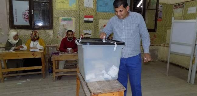 غلق لجنة رقم 3 بعد إدلاء الناخبين بأصواتهم في الفيوم
