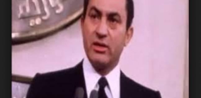 انتخابات زمان| جلسة تنصيب مبارك رئيسا في استفتاء شعبي: 98.46%