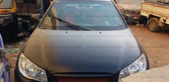 """""""أمن أسيوط"""" يضبط سيارة مسروقة من القاهرة"""
