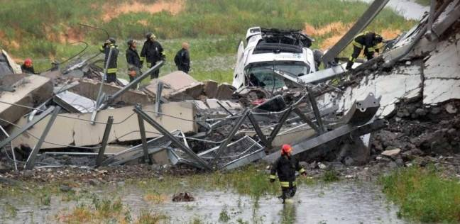 """جنازة رسمية لعدد من ضحايا انهيار الجسر وغضب في """"جنوى"""""""
