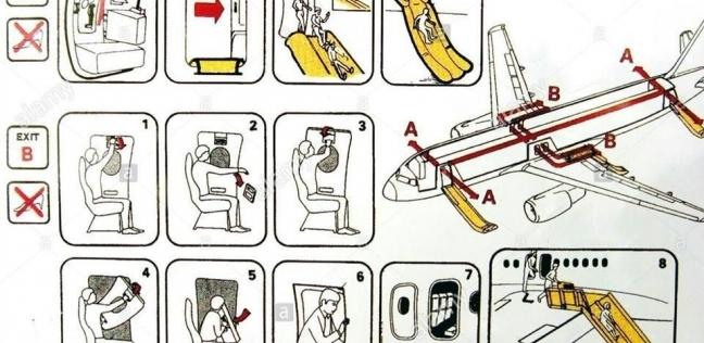بعد واقعة الطائرة الرومانية..  شروط الجلوس بمقاعد الطوارئ