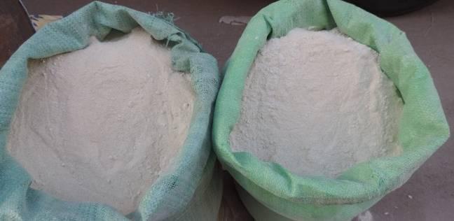ضبط صاحب مخبز بحيازته 500 كيلو جرام دقيق مدعم بقصد الاتجار بالفيوم