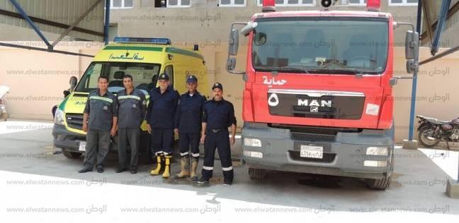 السيطرة على حريق في منزل ببني سويف
