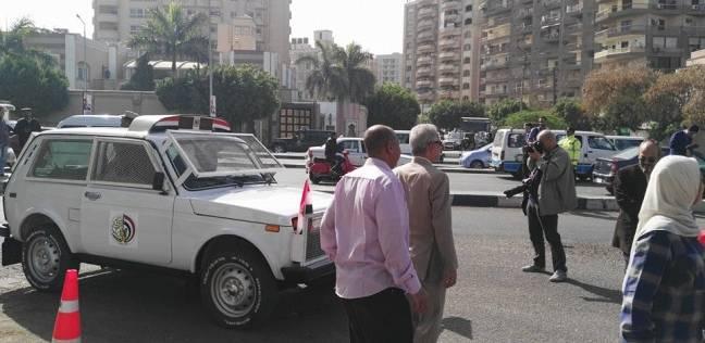 بالفيديو والصور| سيارات قوات حماية المواطنين تتجول في مصر الجديدة