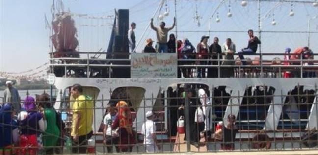 بالفيديو| رصد الأجواء الاحتفالية للمصريين على ضفاف نهر النيل