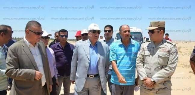 محافظ الإسماعيلية يترأس حملة لاسترداد 700 فدان أملاك دولة