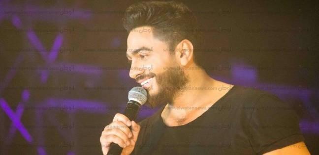 """على نغمات """"تليفوني رن"""".. تامر حسني يختتم غنائه بحفل العاصمة الإدارية"""