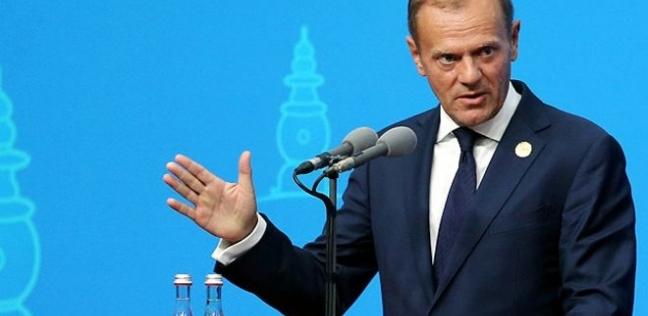 """رئيس الاتحاد الأوروبي يثمن دور السيسي في نجاح """"العربية-الأوروبية"""""""