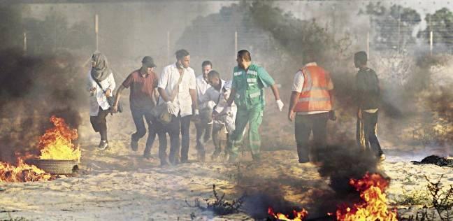 5 شهداء وعشرات الإصابات بنيران الاحتلال على حدود غزة