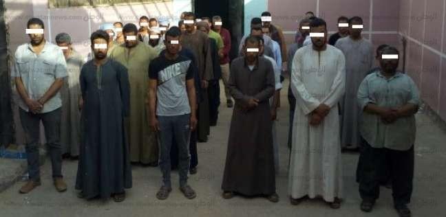 القبض على 62 متهما مطلوبين في قضايا جنائية