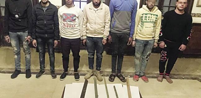 القبض على 9 متهمين بممارسة البلطجة وفرض السيطرة