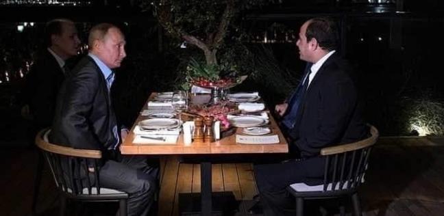 عاجل| الرئيس السيسي: سعادتي بالغة بلقاء صديقي الزعيم بوتين
