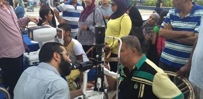"""حملة """"إبصار"""" تنجح في علاج 5000 شخص بالمجان في الشرقية"""