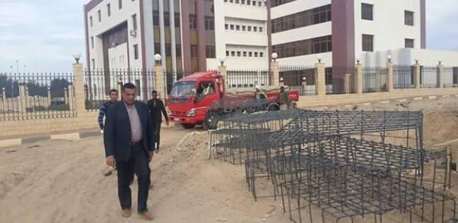 إنشاء مبنى إداري خدمي بمدينة سفاجا