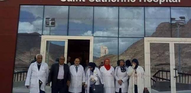 قافلة طبية مجانية تضم 10 تخصصات بمستشفى رأس سدر العام