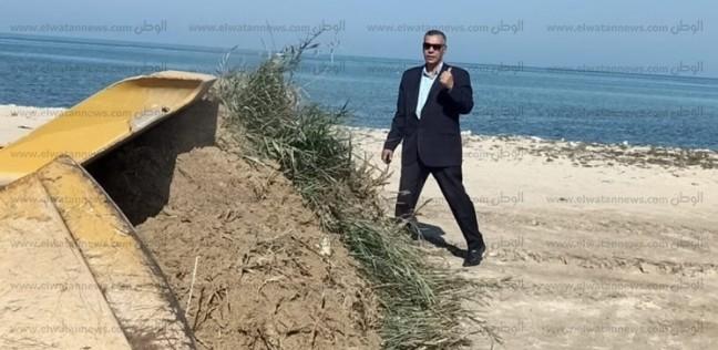 إزالة المخلفات على شاطئ الجبيل في طور سيناء