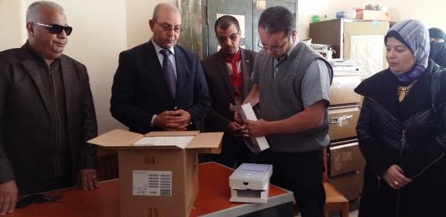 تسليم 5682 تابلت لـ27 مدرسة ثانوية في بورسعيد