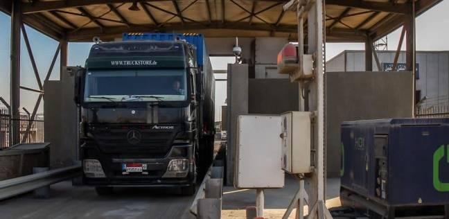 ميناء دمياط: تشغيل جهاز الكشف الإشعاعي على الحاويات الصادرة
