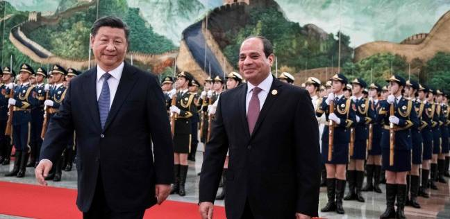 السيسي ونظيره الصيني يشهدان توقيع اتفاق منحة لتصنيع قمر صناعي مصري