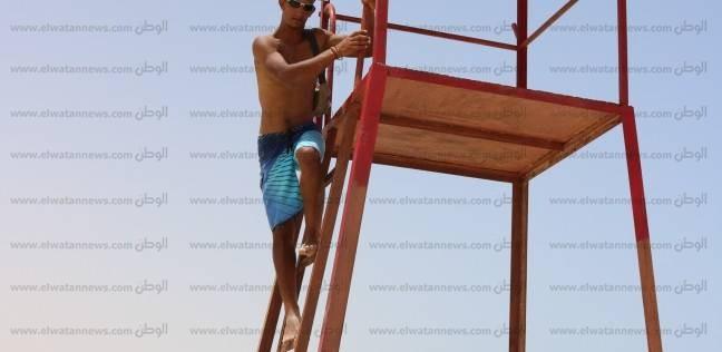 """""""تماوي"""" غطاس شاطئ روميل في مطروح: """"أنا قشاية الغريق"""""""