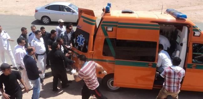 إصابة 4 في حادث تصادم أمام مقر شرطة السياحة بشمال سيناء